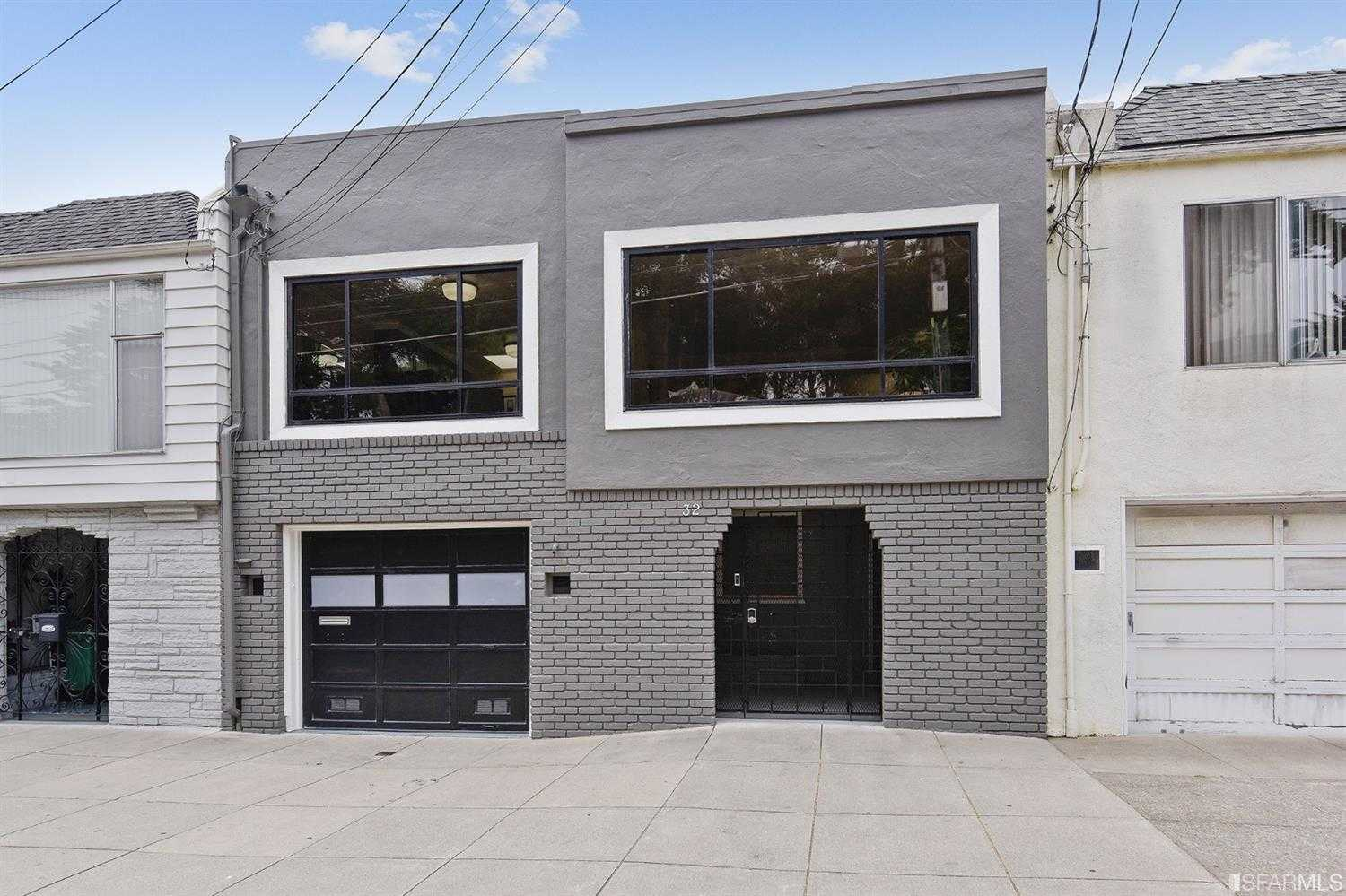 $1,188,000 - 5Br/2Ba -  for Sale in San Francisco
