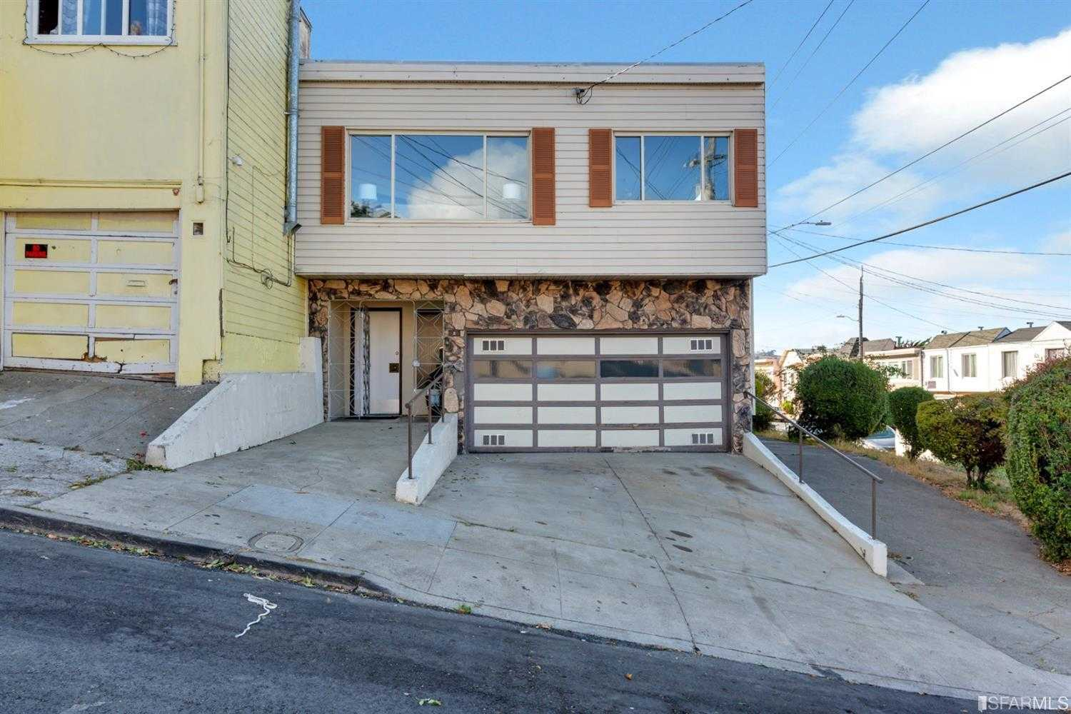 $850,000 - 4Br/2Ba -  for Sale in San Francisco