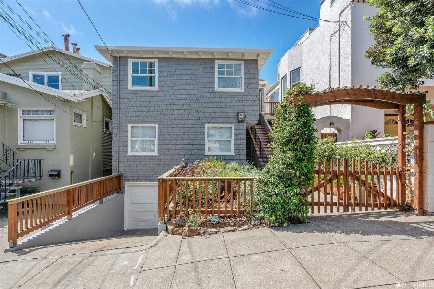 $1,029,000 - 2Br/1Ba -  for Sale in San Francisco
