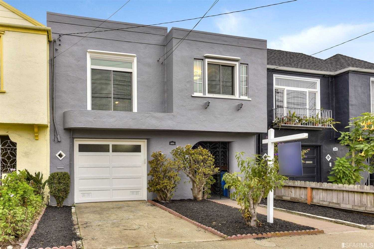 $1,095,000 - 3Br/1Ba -  for Sale in San Francisco