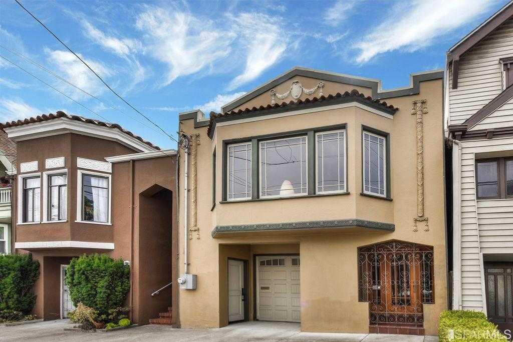 $1,655,000 - 3Br/2Ba -  for Sale in San Francisco