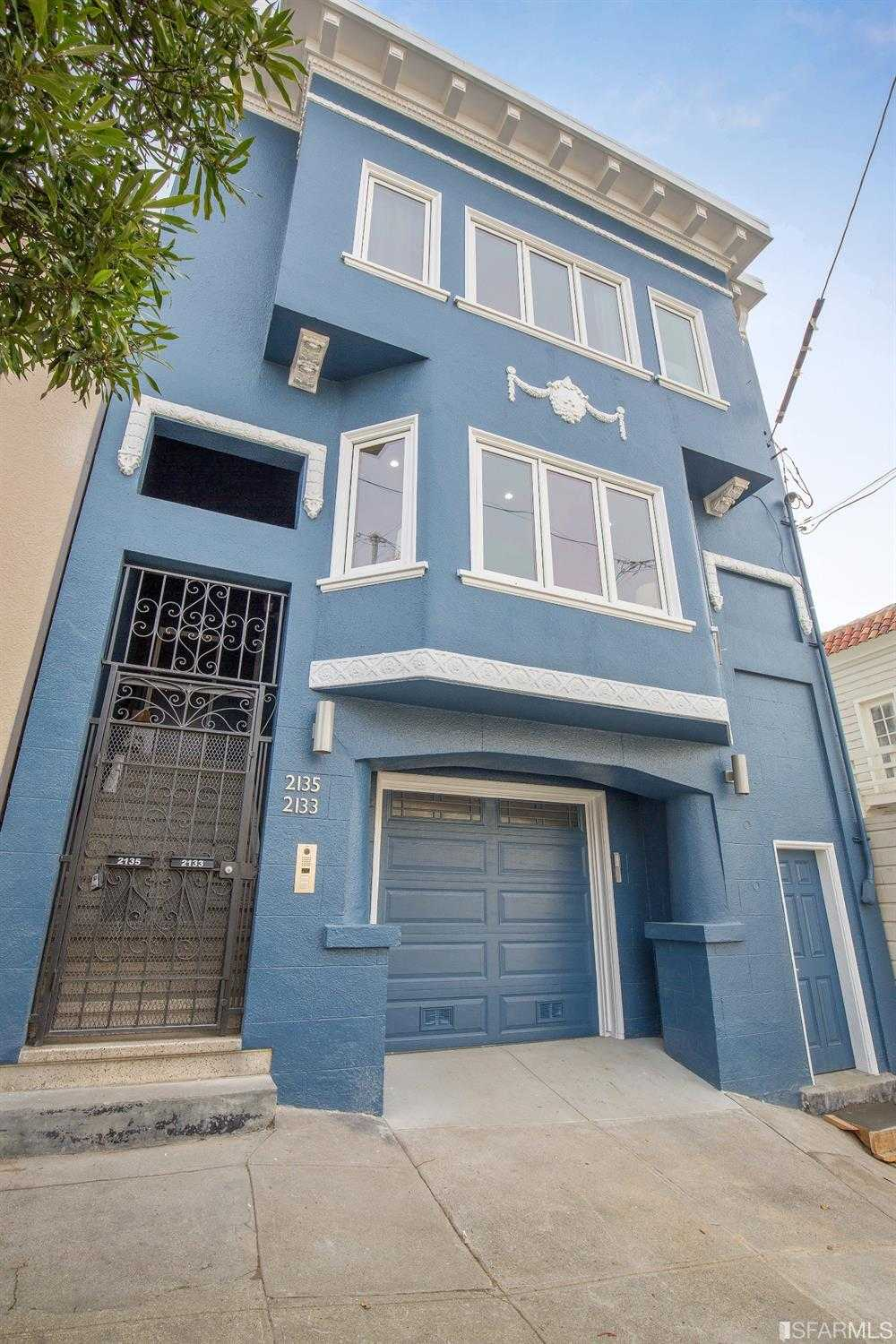 $1,480,000 - 4Br/3Ba -  for Sale in San Francisco