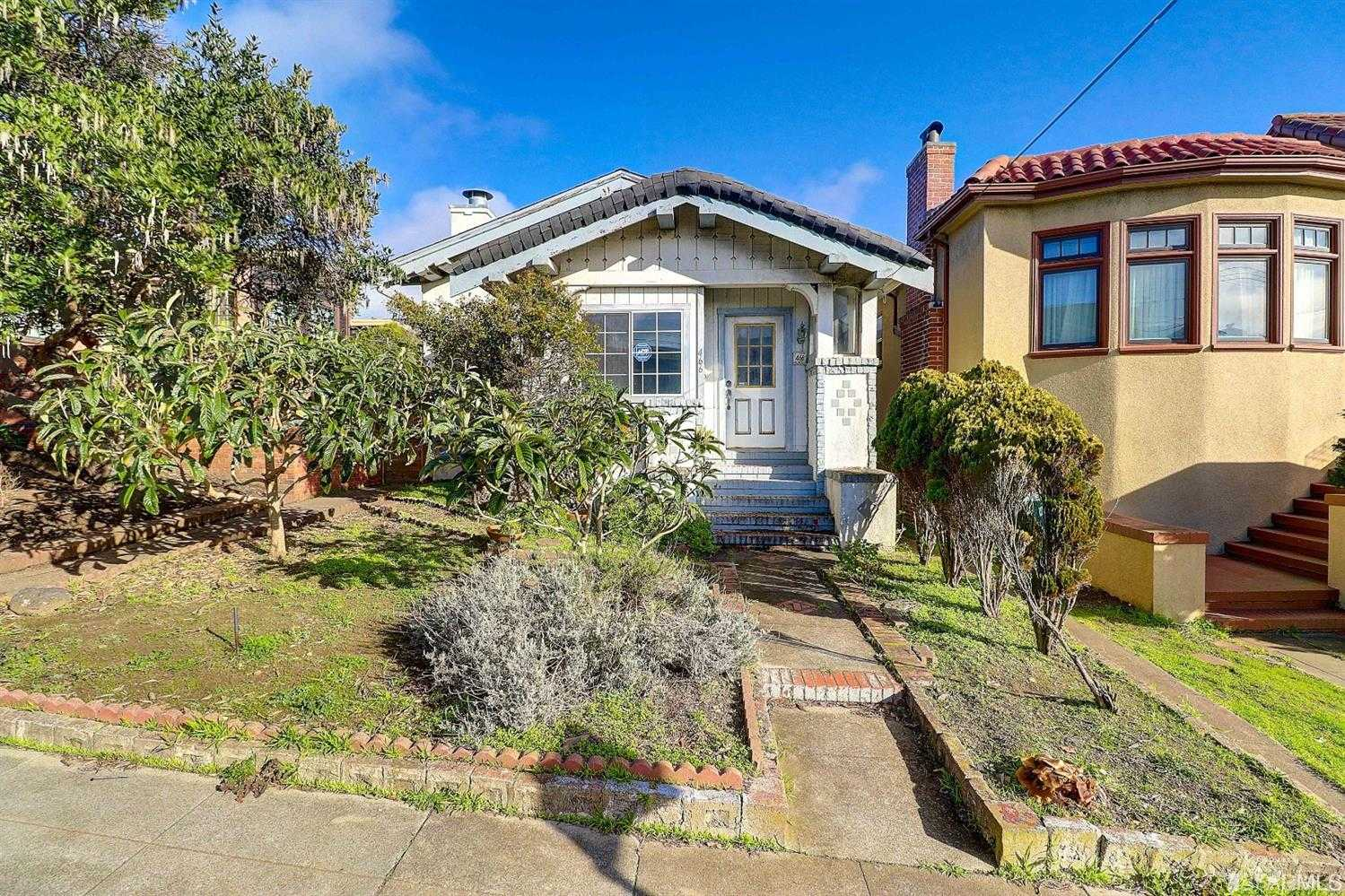 $1,299,000 - 2Br/1Ba -  for Sale in San Francisco