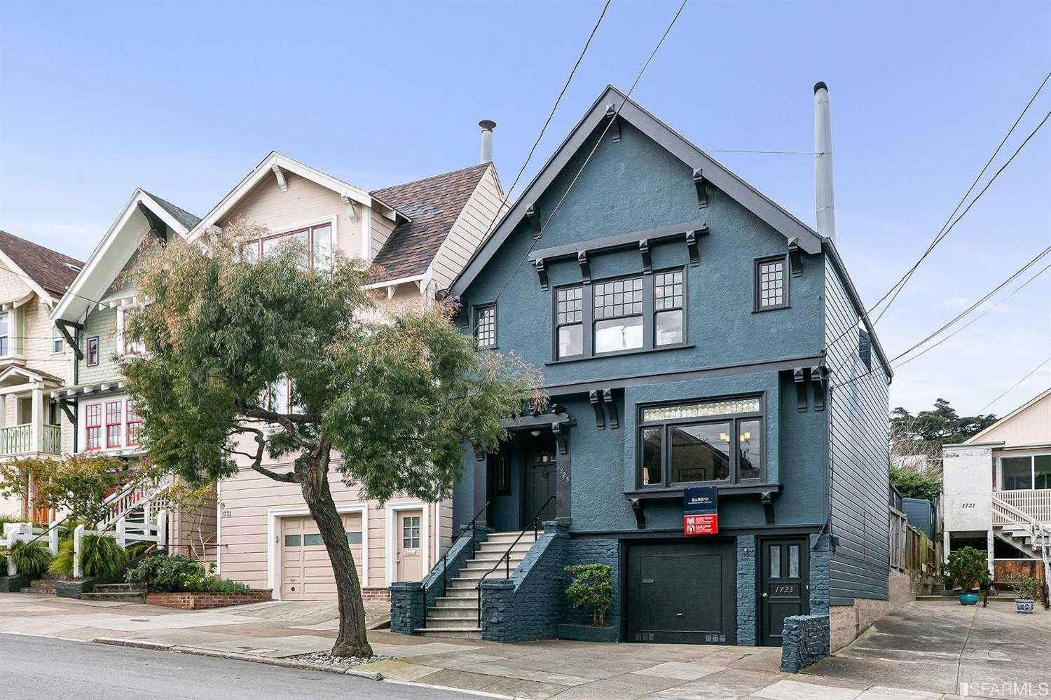 1723 1725 10th Avenue San Francisco, CA 94122