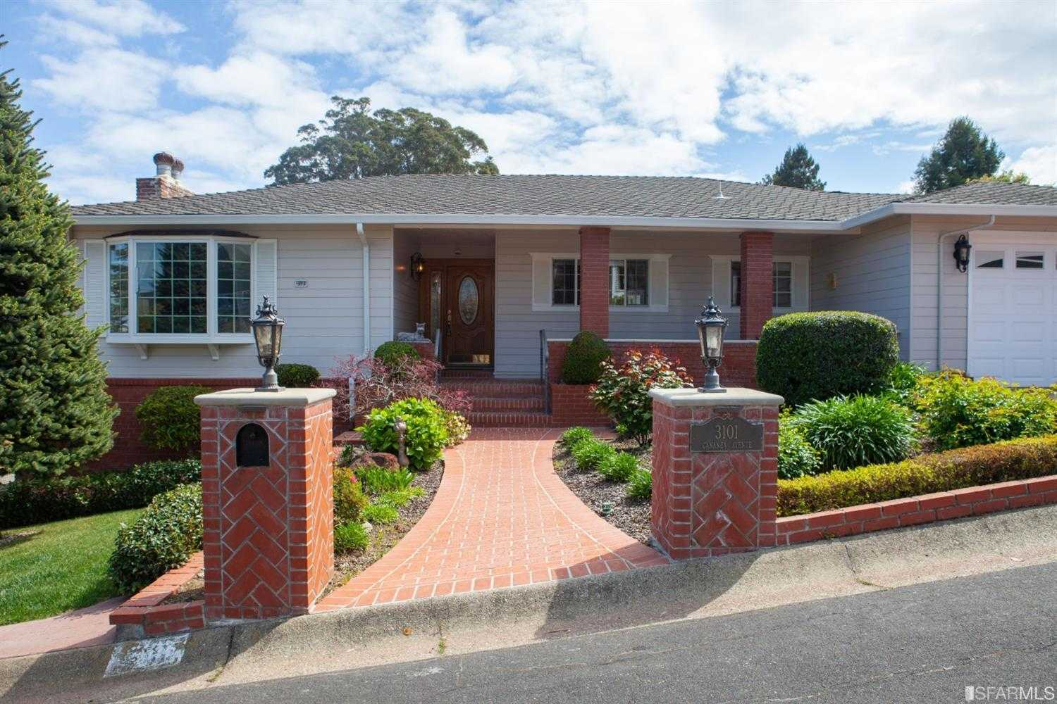 $2,288,000 - 3Br/3Ba -  for Sale in Burlingame
