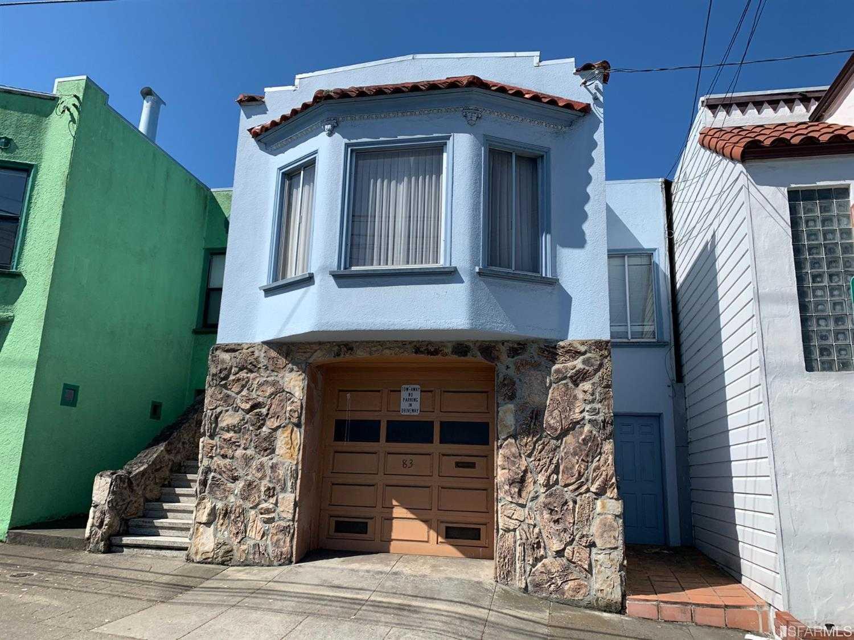 83 Mount Vernon Avenue San Francisco, CA 94112
