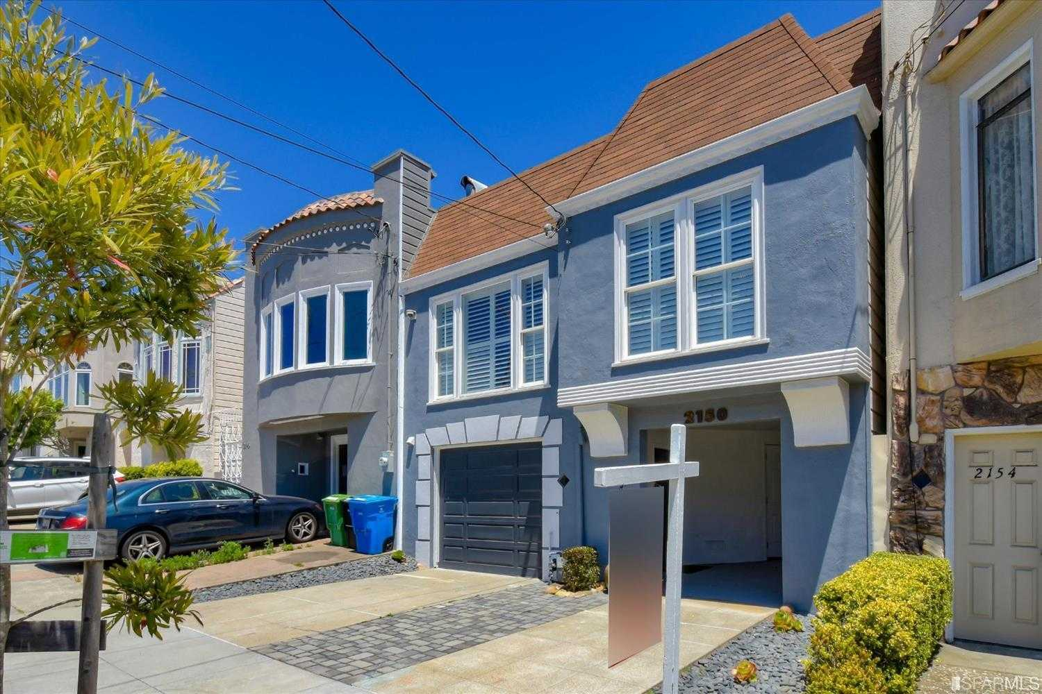 $1,950,000 - 5Br/3Ba -  for Sale in San Francisco