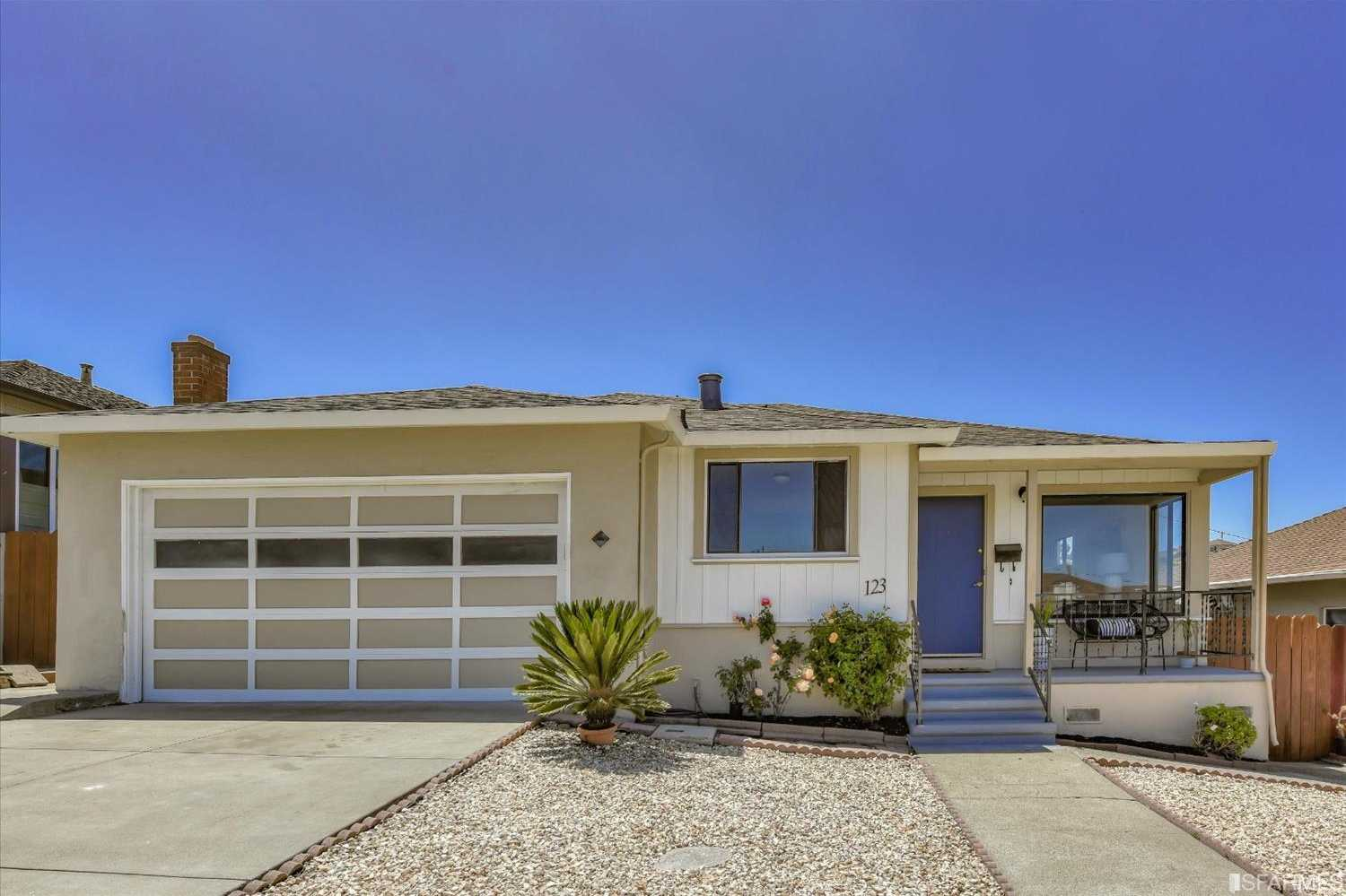 $1,125,000 - 3Br/2Ba -  for Sale in South San Francisco