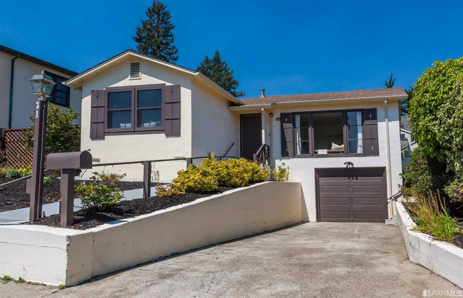 $1,295,000 - 2Br/1Ba -  for Sale in Mill Valley