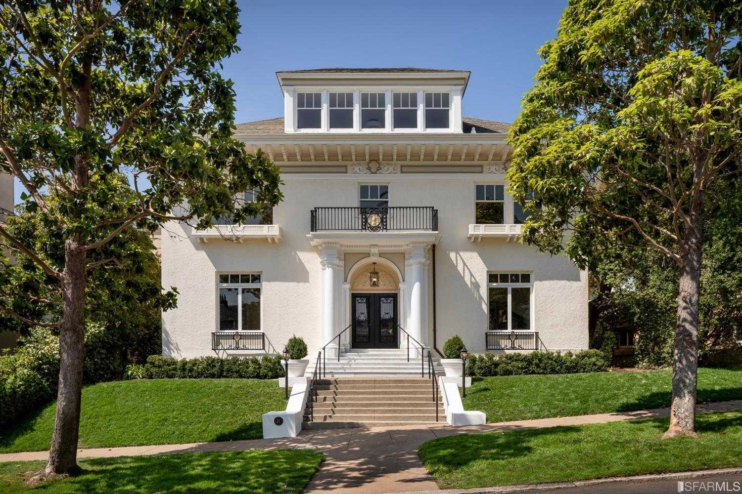 $9,250,000 - 7Br/8Ba -  for Sale in San Francisco