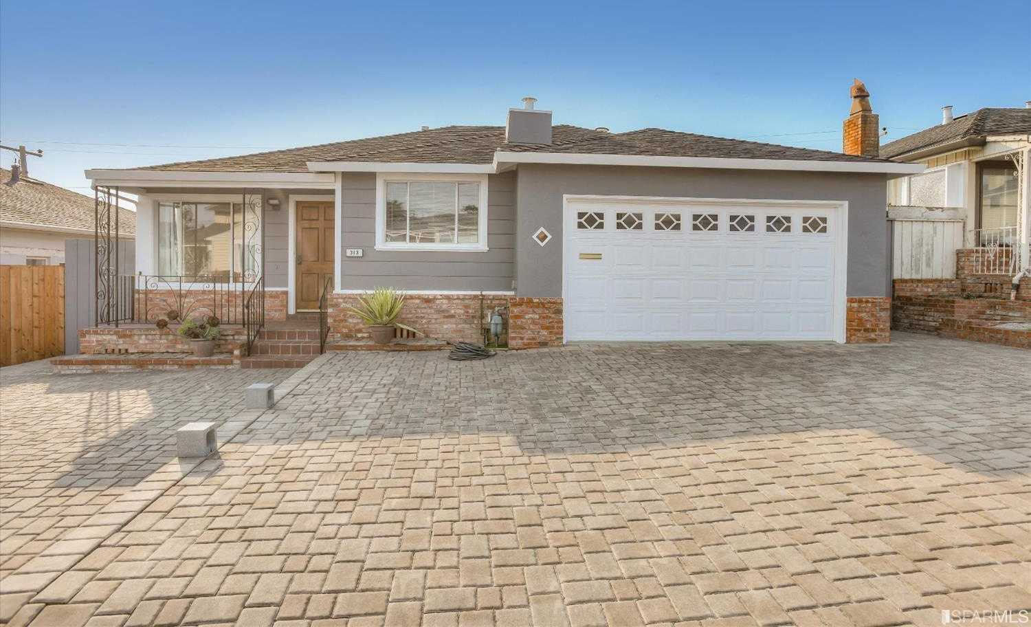 $895,000 - 3Br/2Ba -  for Sale in South San Francisco