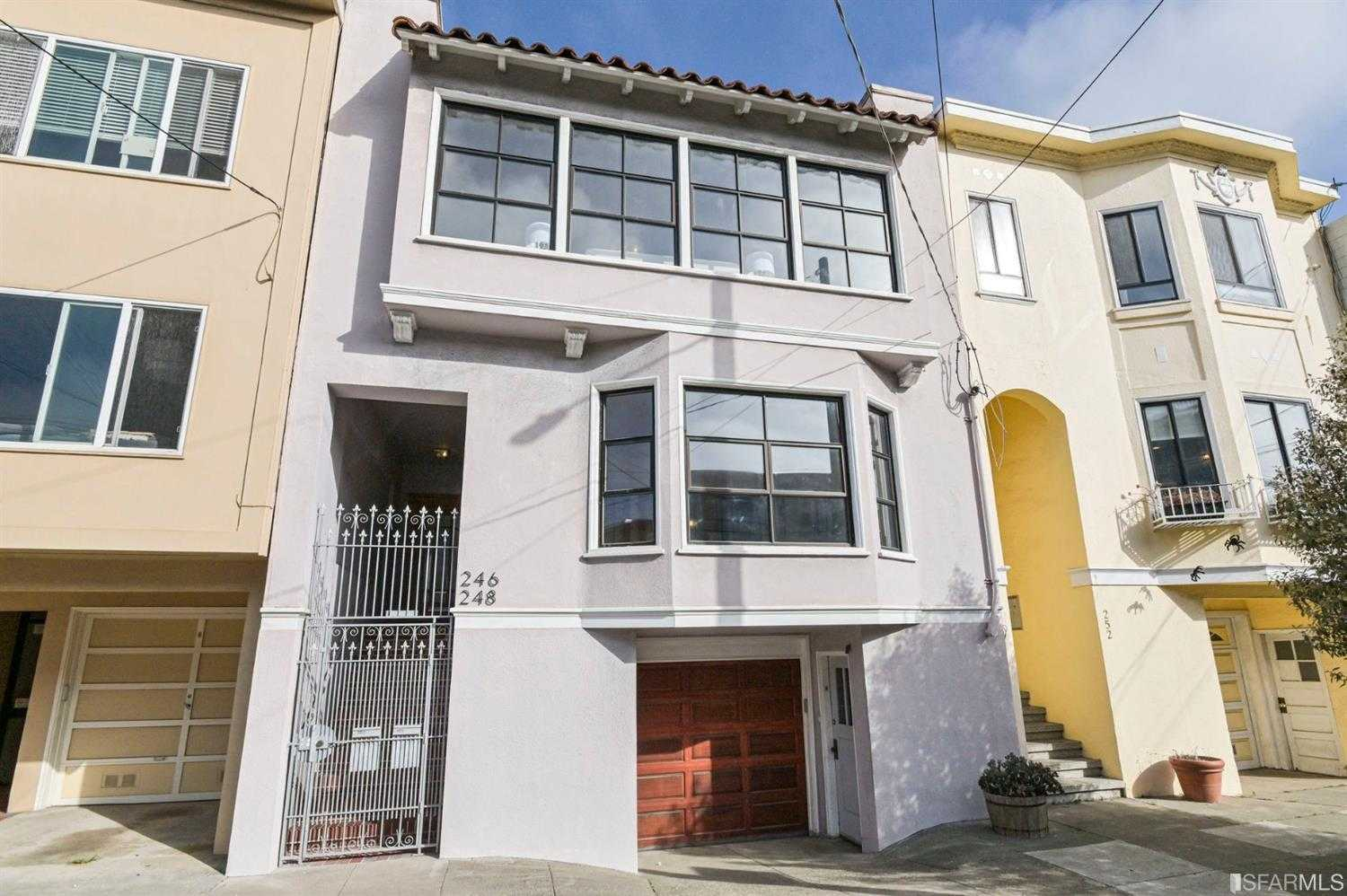 246 248 27th Avenue San Francisco, CA 94121