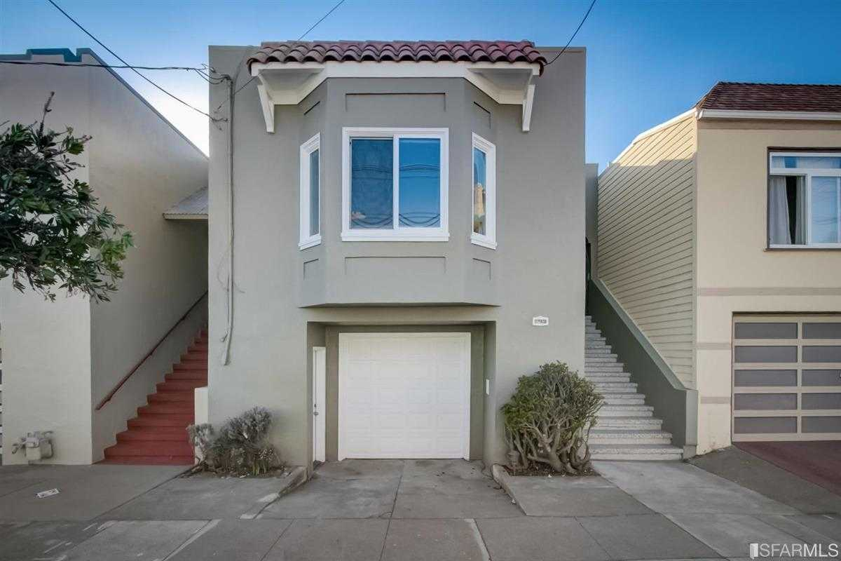 $1,089,000 - 3Br/2Ba -  for Sale in San Francisco