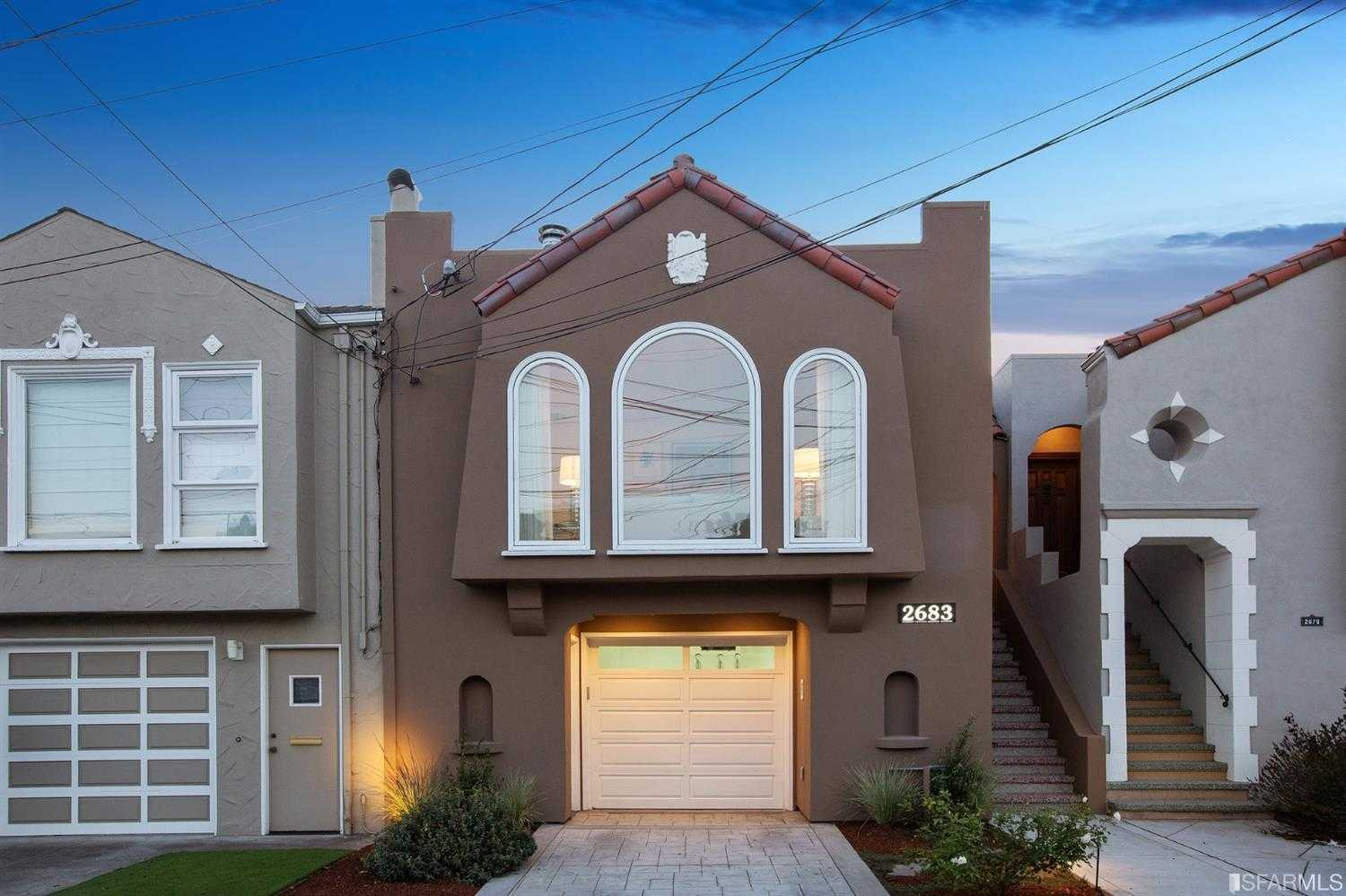 $1,850,000 - 3Br/3Ba -  for Sale in San Francisco