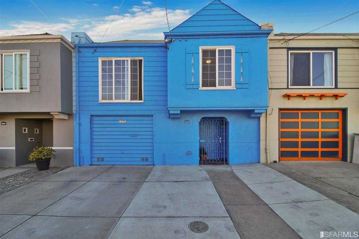 $1,180,000 - 3Br/3Ba -  for Sale in San Francisco