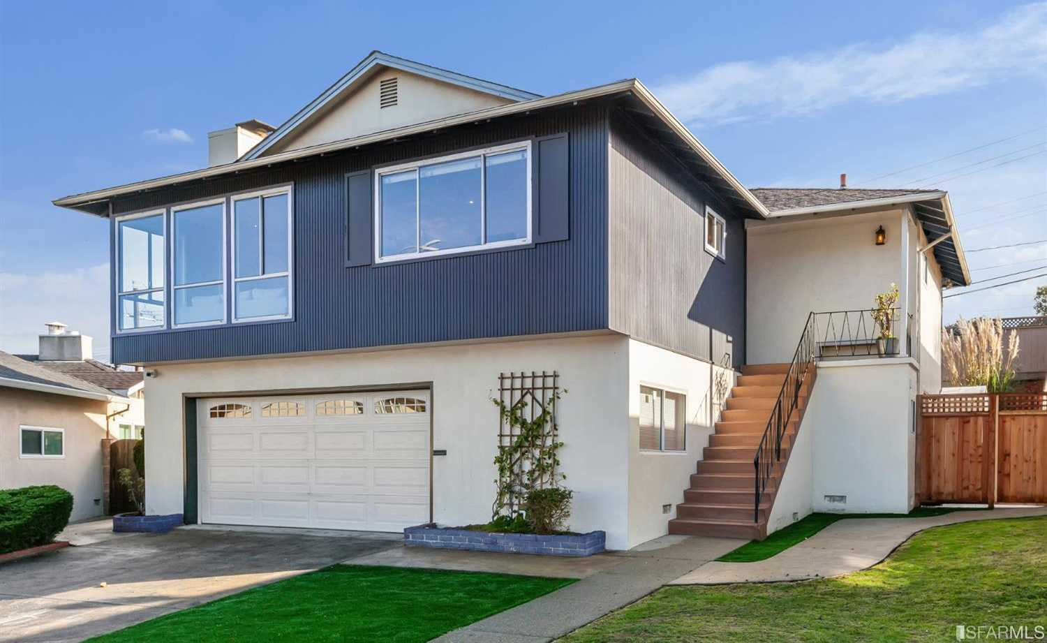 $1,295,000 - 4Br/4Ba -  for Sale in South San Francisco