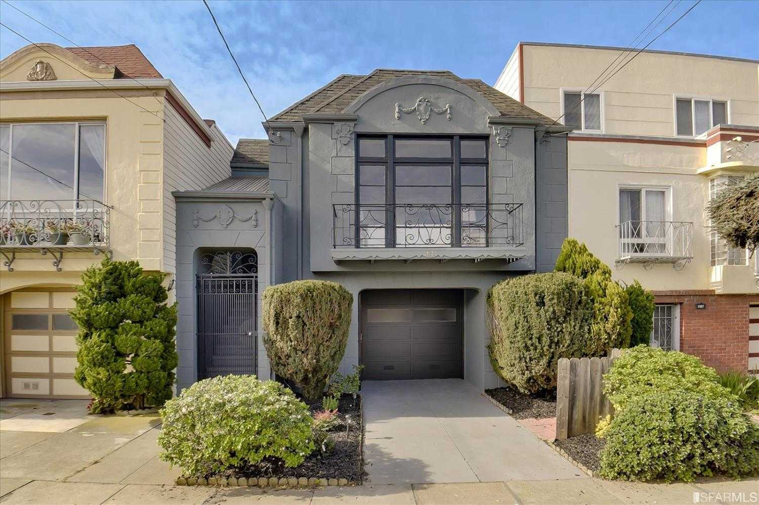 $1,495,000 - 4Br/3Ba -  for Sale in San Francisco
