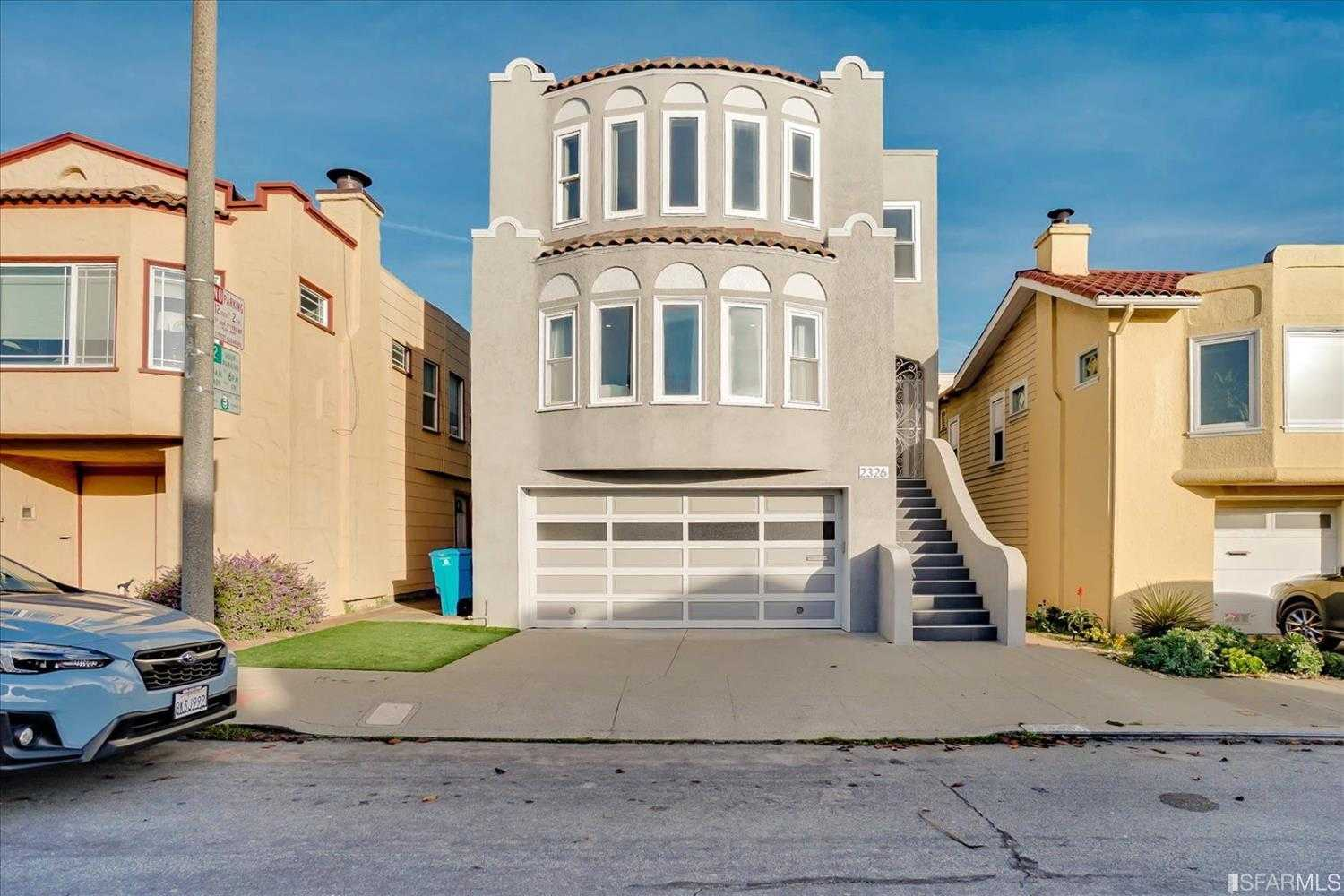 $2,250,000 - 5Br/4Ba -  for Sale in San Francisco