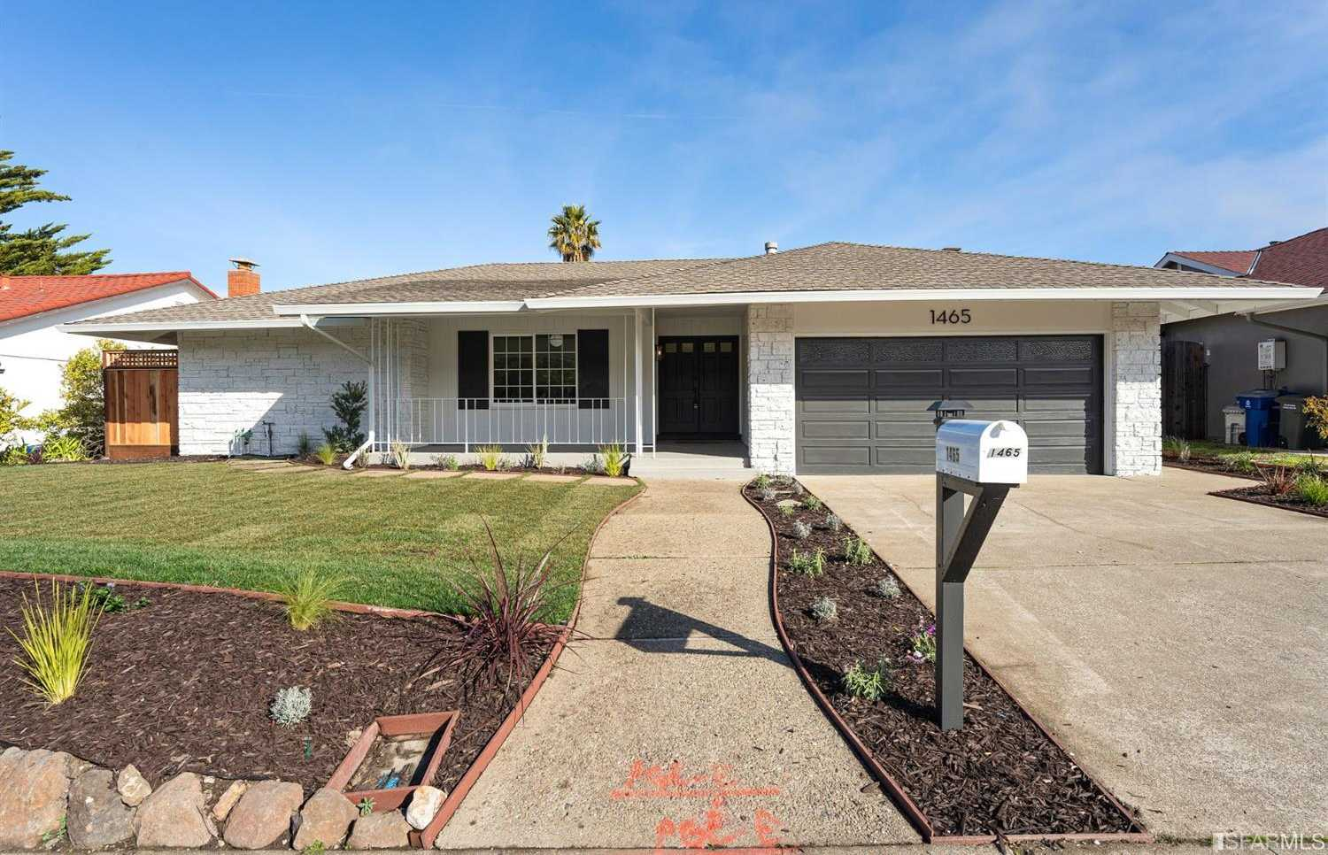 $2,198,000 - 3Br/3Ba -  for Sale in Millbrae