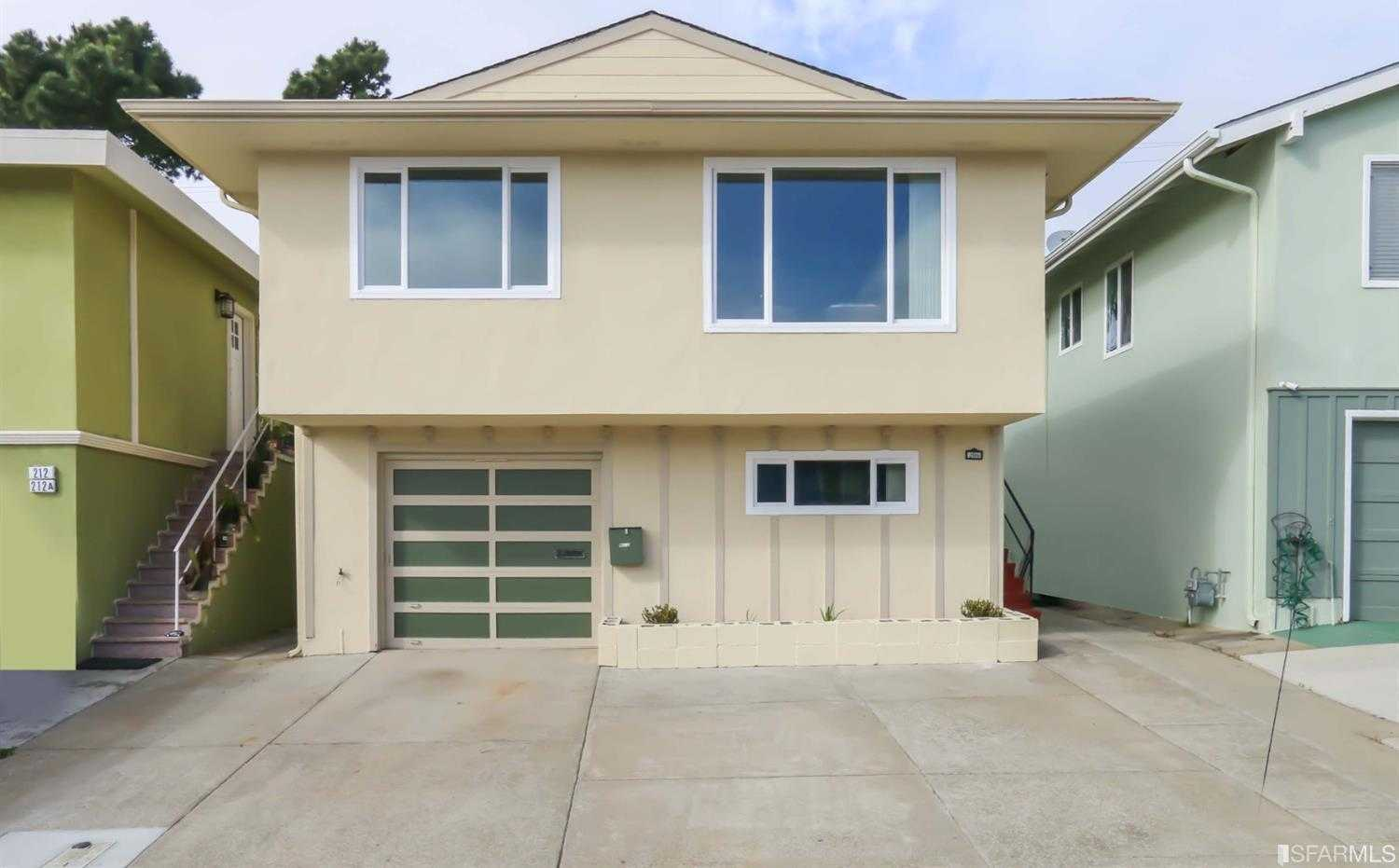 $1,048,000 - 4Br/3Ba -  for Sale in Daly City