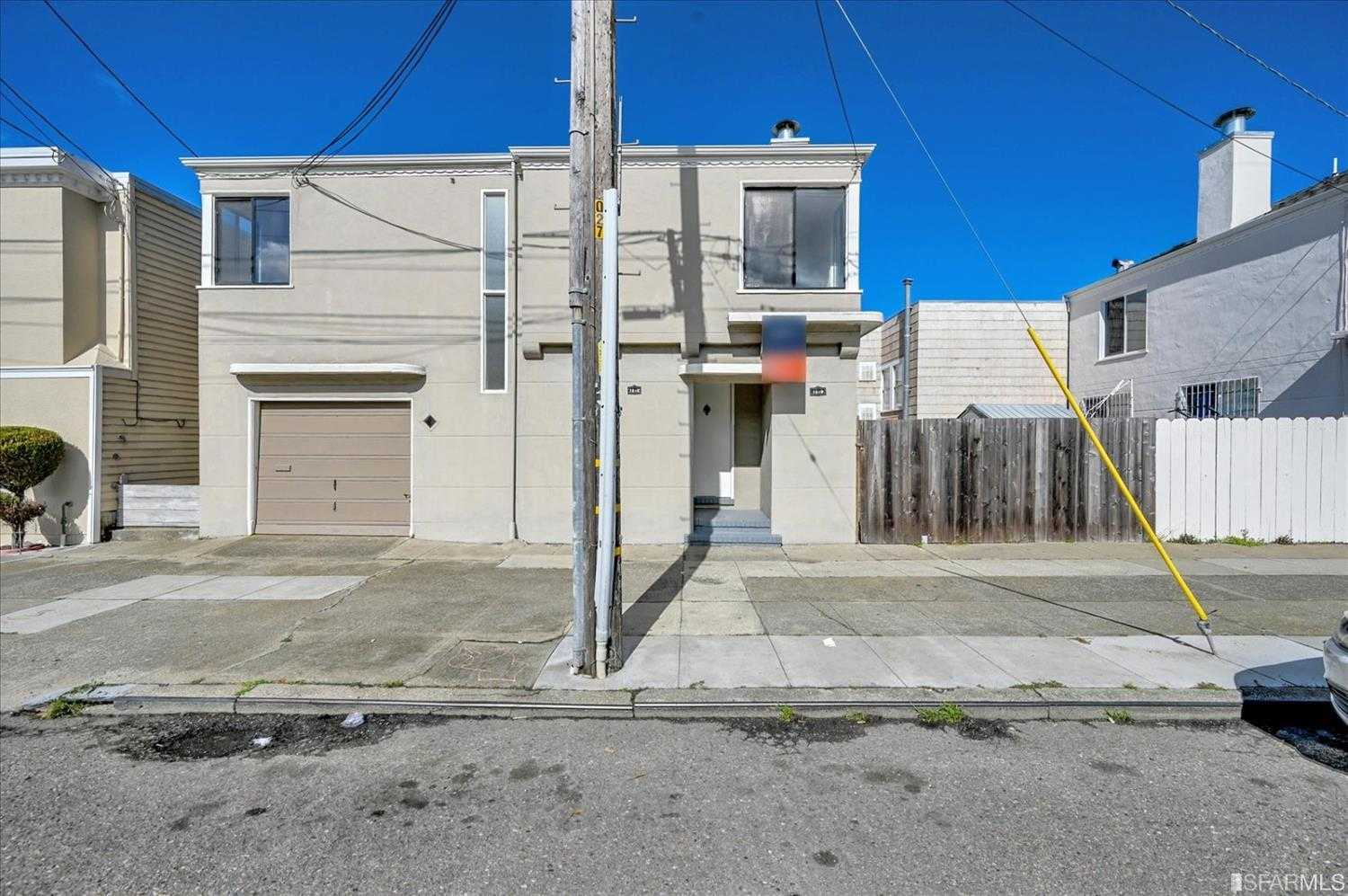 $1,095,000 - 4Br/2Ba -  for Sale in San Francisco
