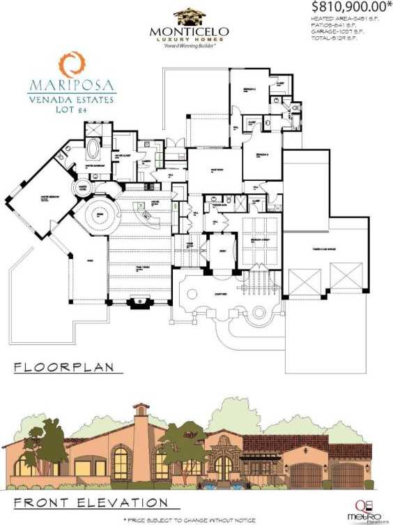 $810,900 - 4Br/3Ba -  for Sale in Venada Estates, Rio Rancho