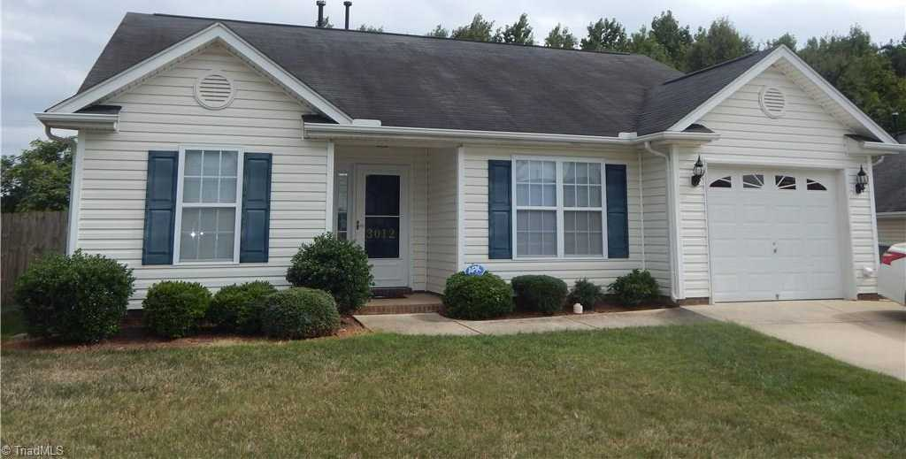 $119,900 - 3Br/2Ba -  for Sale in Quail Oaks, Greensboro